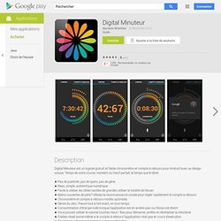 Digital Minuteur