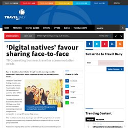 'Digital natives' favour sharing face-to-face