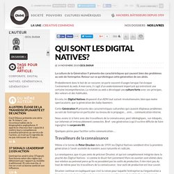 Qui sont les digital natives? » Article » OWNI, Digital Journalism