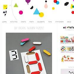 Digital Number Puzzle