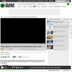 Olhar Digital : Central de Vídeos : Sites organizam as ações da sua empresa nas redes sociais