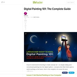 Digital Painting 101: The Complete Guide