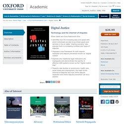 Digital Justice - Paperback - Ethan Katsh; Orna Rabinovich-Einy