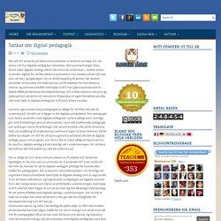 Tankar om digital pedagogik ~ Kilskrift