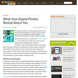 What Your Digital Photos Reveal About You