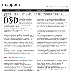 OPPO Digital - Demo Tracks by DSD Pioneer Musician David Elias
