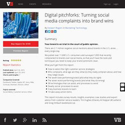 Digital pitchforks: Turning social media complaints into brand wins