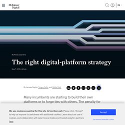 The right digital-platform strategy