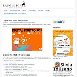 Digital Portfolios and Content