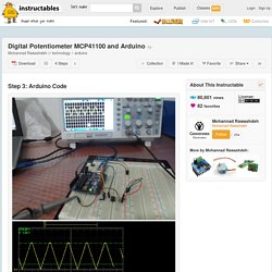 Digital Potentiometer MCP41100 and Arduino - 3