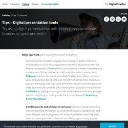 Tips – Digital presentation tools