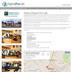 About Digital Pro Lab