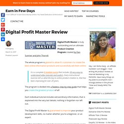 Digital Profit Master Review - Does It Really Help?