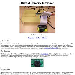 Digital Camera Interface