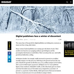 Digital publishers face a winter of discontent