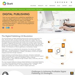 Digital Publishing - Create Content for Any Platform, Media, or Device