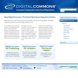 Hosted, Open Access Repository Software