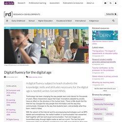 [rd] Digital fluency for the digital age