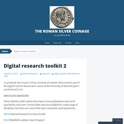 Digital research toolkit 2