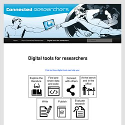 Digital tools for researchers