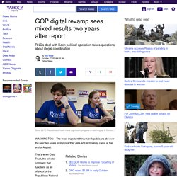GOP digital revamp sees mixed results two years after report