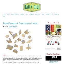 Digital scrapbooking tutorials, reviews, and resources » Blog Ar