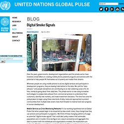 Digital Smoke Signals | Global Pulse