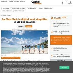 Au Club Med, le digital veut simplifier la vie des salariés