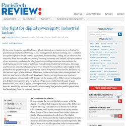The fight for digital sovereignty: industrial factors