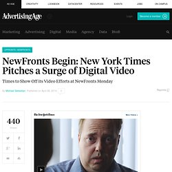 The New York Times Wants to Make Digital Video for Brands