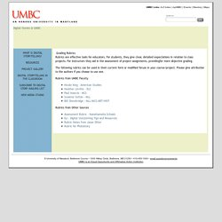 Digital Stories @ UMBC