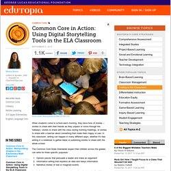 Using Digital Storytelling Tools in the ELA Classroom (Digital Storytelling)