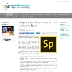 Il digital storytelling a scuola con Adobe Spark