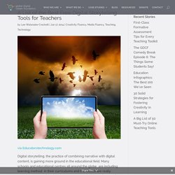 A List of the Best Free Digital Storytelling Tools for Teachers