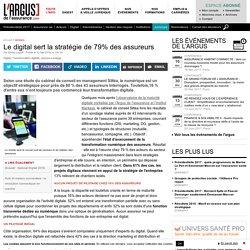 Le digital sert la stratégie de 79% des assureurs
