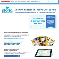 Storia is a digital subscription library for every teacher and student