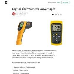 Digital Thermometer Advantages - AAB TOOLS - Medium