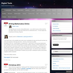 Digital Tools | Digital tools for the classroom