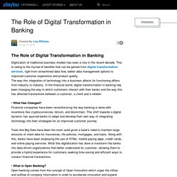 The Role of Digital Transformation in Banking