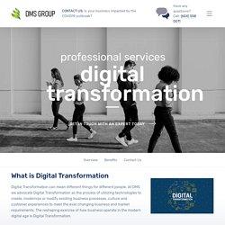 Digital Transformation – DMS Group