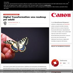 Digital Transformation: una roadmap per adulti