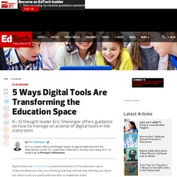 5 Ways Digital Tools Are Transforming the Education Space