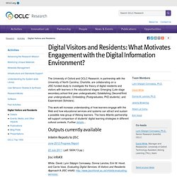 Digital Visitors and Residents [OCLC - Activities]