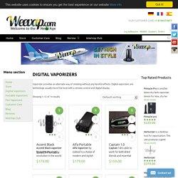 Digital Volcano Vaporizer & Easy Vape Digital Vaporizer - WeeVap