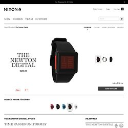 The Newton Digital | Watches | Nixon Watches and Premium Accessories