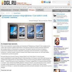 Сравнение камер смартфонов: Сделайте свой лучший снимок
