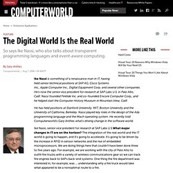 The Digital World Is the Real World