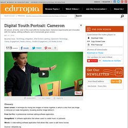 Digital Youth Portrait: Cameron