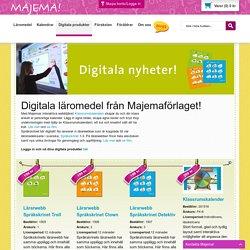 Digitala läromedel från Majema Majema - köp läromedel och kalendrar för lärare online