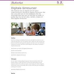Digitala lärresurser
